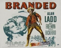 Branded 1950 DVD - Alan Ladd / Mona Freeman